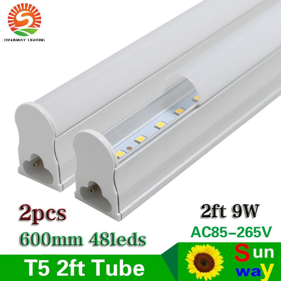 Sunway Lighting Led Tube Bulb T5 0 6m Integrated 600mm 2ft