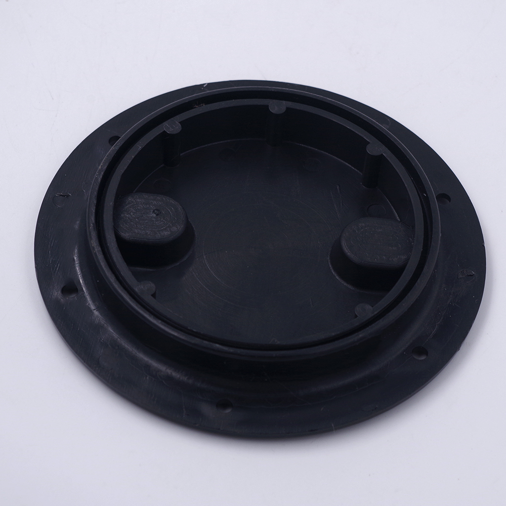 Marine Boat RV Black 4 Inch Access Hatch Cover Twist Screw Out Deck Plate For Outdoor Boat Kayak Canoe Kayak Accessories