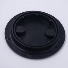 Marine Boat RV Black 4 inch Access Hatch Cover Twist Screw Out Deck Plate for Outdoor Kayak Canoe Accessories