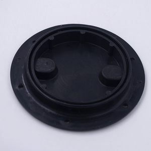Image 1 - Marine Boat RV Black 4 inch Access Hatch Cover Twist Screw Out Deck Plate for Outdoor Boat Kayak Canoe Kayak Accessories