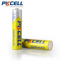 PKCELL 4 Uds 6 uds 8 Uds 10 Uds 12 Uds 16 Uds 20 piezas AAA batería recargable de 1200mAh 1,2 V Ni-MH aaa baterías recargables