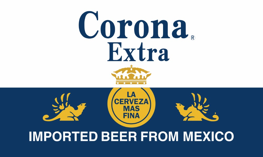 Corona Extra Beer Flagge 3x5 FT 150X90 CM Banner 100D Polyester flagge messing ösen kostenloser versand