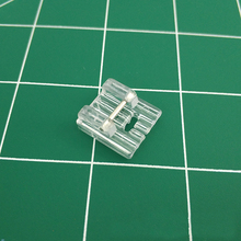 1pcs Clear Plastic 5 Ditches Fold DIY Sewing Walking Foot for Multifunction Machines Hot Sale Home Machine Tools