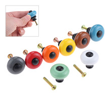 DRELD Colorful Furniture Handles Ceramic Cabinet Knobs and Handles Cupboard Drawer Kitchen Door Pull Handles Furniture Fittings dreld 1pc round furniture handles ceramic cabinet knobs and handles door cupboard drawer kitchen pull handles furniture hardware page 6