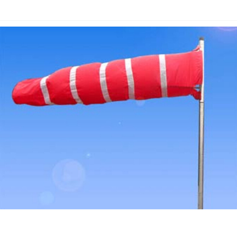 150cm All Weather PVC Wind Sock Weather Vane Windsock for Wind Monitoring Needs Wind Indicator,Outdoor Toy Kites When Play enhanced windsock wind vane double frame skeleton