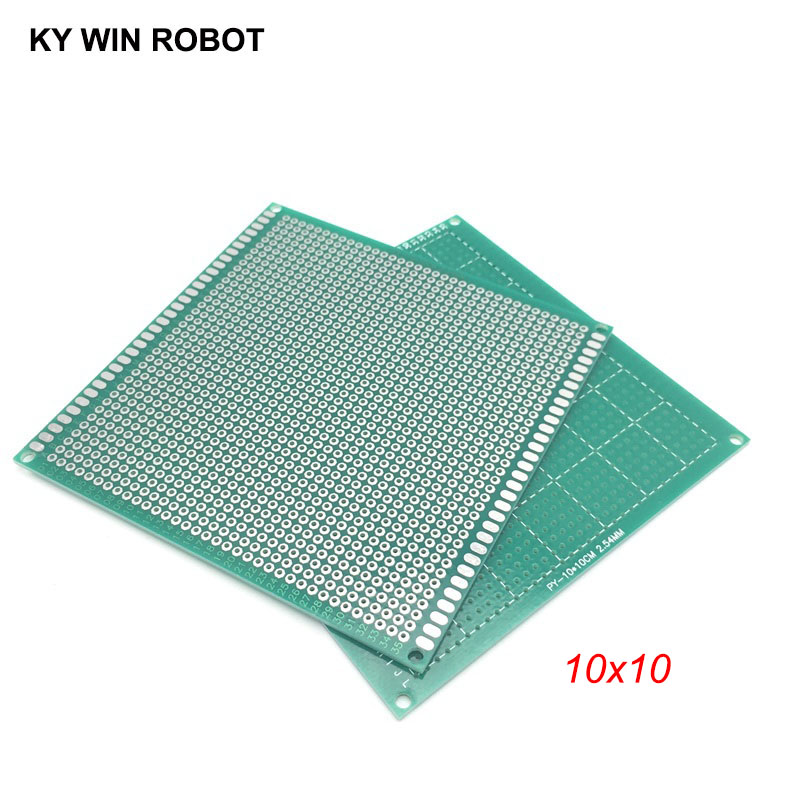 1pcs 10x10cm 100x100 Mm Single Side Prototype PCB Universal Printed Circuit Board Protoboard For Arduino