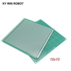 1pcs 10x10cm 100x100 mm Single Side Prototype PCB Universal Printed Circuit Board Protoboard For Arduino