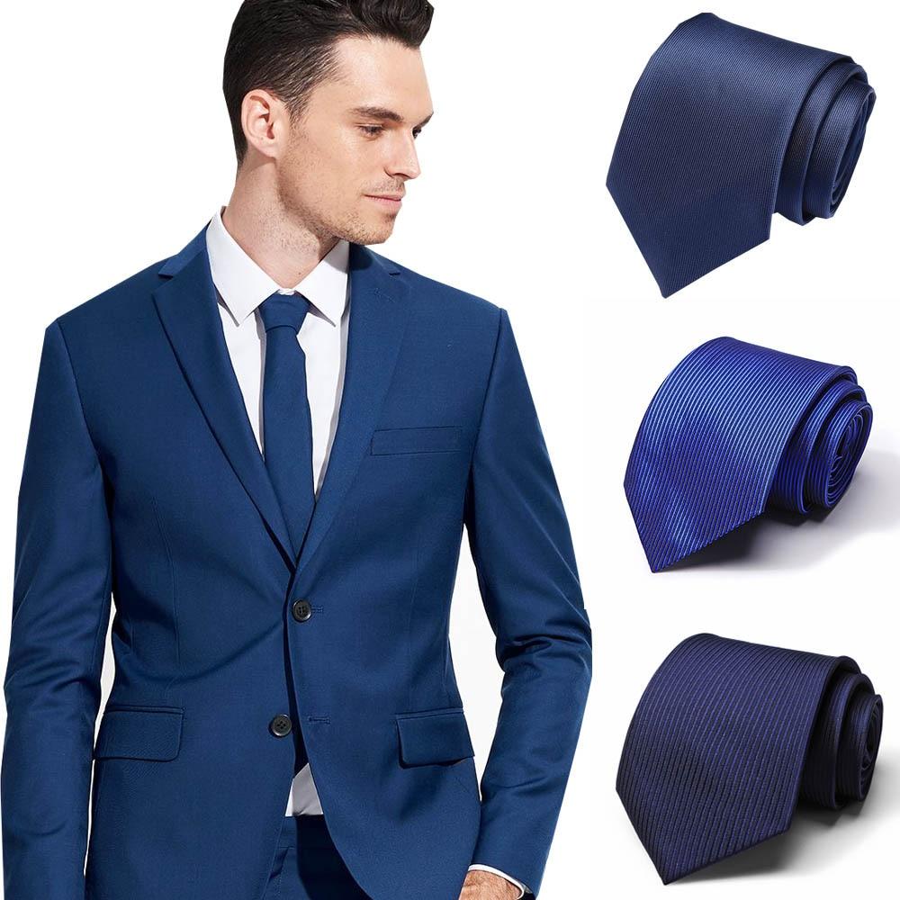 48 Style Ties Business Vestidos Wedding Classic Men's Tie Stripe Grid 7.5cm Corbatas Dress Fashion Accessories Men Necktie