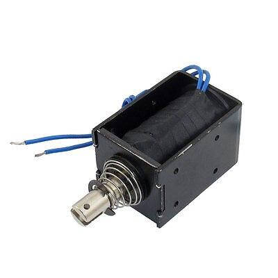 8Kg Holding Force DC 12V Pull Linear Solenoid Electromagnet HCNE1-1683 mq8 z45 dc 12v dc24v 10mm 4 8kg motion cirect current solenoid electromagnet