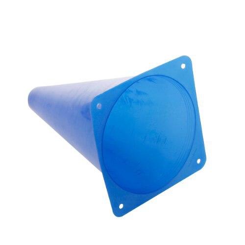 9 дюймов многофункциональный безопасности ловкость конус для Футбол Спортивные полевой практики дрель Маркировка-синий