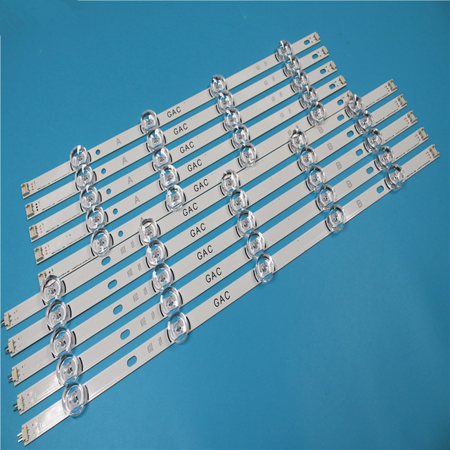 "LED BacklightสำหรับLG 49LB620V Innotek DRT 3.0 49 ""49LB552 49LB629V 6916l 1788A 6916l 1789A 49LF620V 49UF6430 6916L 1944A"