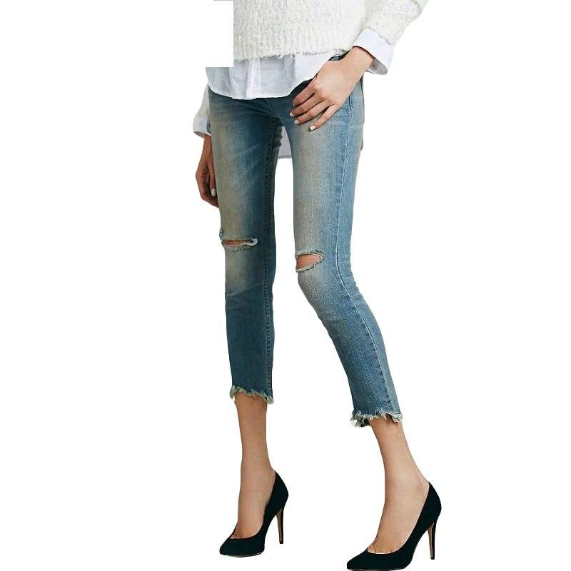 Online Get Cheap High Waist Destroyed Jeans -Aliexpress.com ...