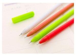 Image 5 - 40 adet noel jel sevimli noel baba kalem yazma okul ofis yılbaşı hediyeleri sevimli kırtasiye noel yenilik jel kalemler