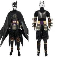 2018 Movie Batman Ninja Batman Cosplay Costume Adult Men Outfit Suit Cape Halloween Cosplay Costume Action Figure Version