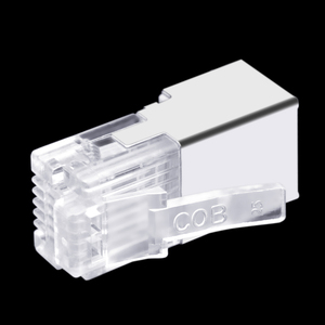 Image 5 - 50 قطعة RJ11 RJ12 6P6C طويلة الجسم ، موصل خط الهاتف FTP 6 الأساسية رئيس الكريستال الهاتف ، وحدات التوصيل درع قذيفة النحاس