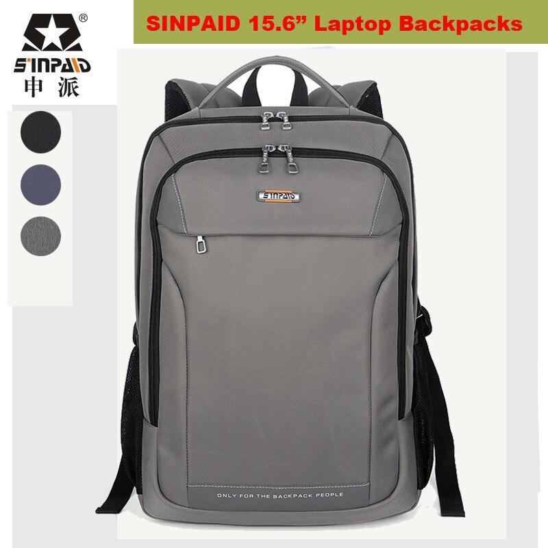 ФОТО  2017 Fashion Western style Students Schoolbag women Mochila Feminina 15.6 inch Laptop bag Notebook backpack man escolar Bookbag