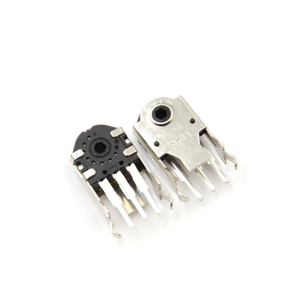 5PCS High quality Mouse Encoder Wheel Encoder Repair Parts Switch 11MM Wholesale-in Switches from Lights & Lighting