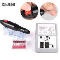 ROSALIND Electric Manicure Drill 10W Nail Art Equipment Nail File Drill EU Plug Nail Design nails accessories