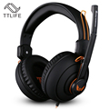 TTLIFE High Quality X7 Deep Bass Gaming Wired Headset Earphone Headband Stereo Headphones with Microphone for PC Gamer