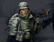 40K X-102 World War II German machine gunner winter Germany(China)