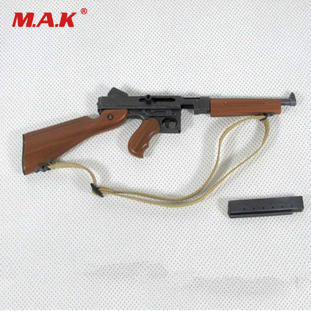 42152409b73cb 1 6 Scale Weapon Model WWII US Army Thompson Submachine Gun M1928A2 for 12  inches