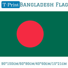 90*150cm/60*90cm/40*60cm/15*21cm Hanging Bangladesh Flag For National Day Olympic Games Event Office Home decoration(China)