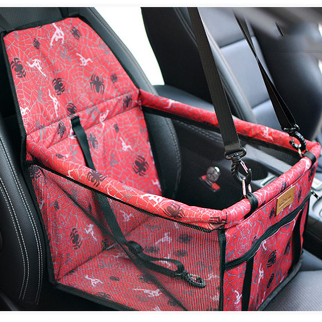 Pet Carrier Foldable Double Layer For Cat Dog Car Seat Travel Puppy Bag