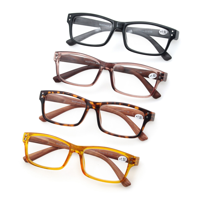 1,5 2 3 Lesebrille Männer Frauen Holz Muster Rahmen Presbyopie Vintage Brillen Harz Material Elastische Bein Dioptrien 1 2,5 3,5