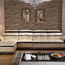 Высокое качество Европейского гостиной кожаный диван a1247