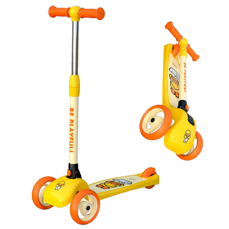 New Children's scooter for 1-3-6 years old baby walker foldable kids children balance car single foot slippery car