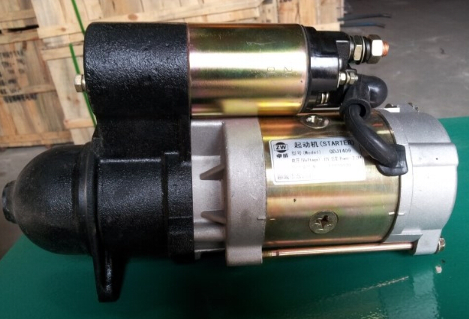 K495/4100D/ZD/P diesel engine spare parts -- starter motor 12V weifang diesel generator parts water pump for 495 4100 weifang diesel engine parts