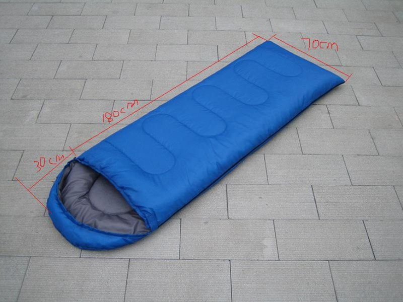 Спальный мешок для кемпинга, теплый зимний спальный мешок для взрослых, спальный мешок для путешествий, Прямая поставка