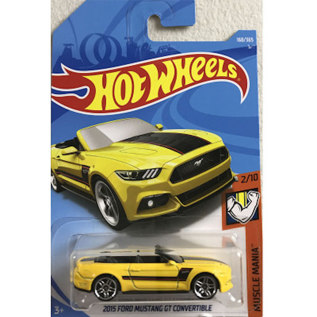 New Arrivals 2018 8j Hot Wheels 164 2015 Ford Mustang Convertible