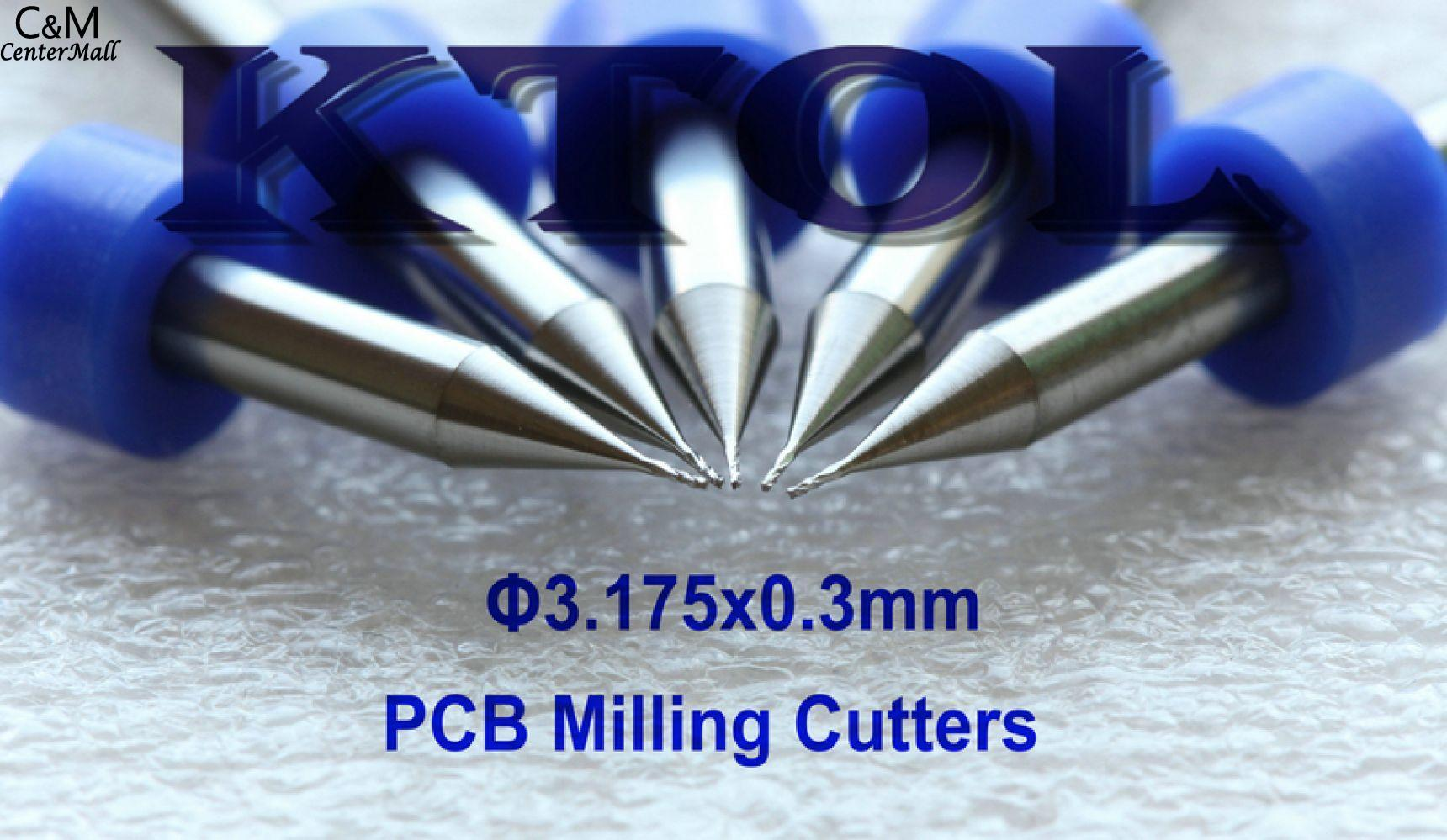 Parallel Carbide 10 Pcs 1 5mm Cnc Pcb Milling Cutter Bits Router 22mm Printed Circuit Board Bit Cutting 317503mm Solid For Tools Toolprinted Mill