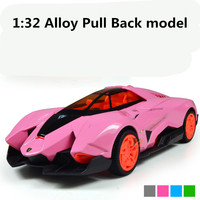 Hot koop, speciale 1:32 legering car pull model speelgoed, Diecasts auto speelgoed, Supercar Model, Retail, groothandel