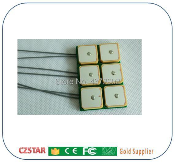 Customized Short Long Range 865-868MHZ Uhf Rfid Antenna 900mhz Circular Polarization Passive Small Ceramics Rfid Reader Antenna