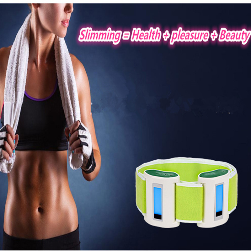 The lazy model body massage power plate shook the machine vibration massage slimming thin rejection fat belt upgrade shook the power plate slimming belt fat burning x 5 times vibration massage abdomen reduce weight thin belt