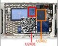DHL 100 пар/лот = 200 шт. Оригинальный новый для iPhone 6 iphone6 plus 6 + 6 P сенсорный экран управления IC U2402 343S0694 + U2401 BCM5976