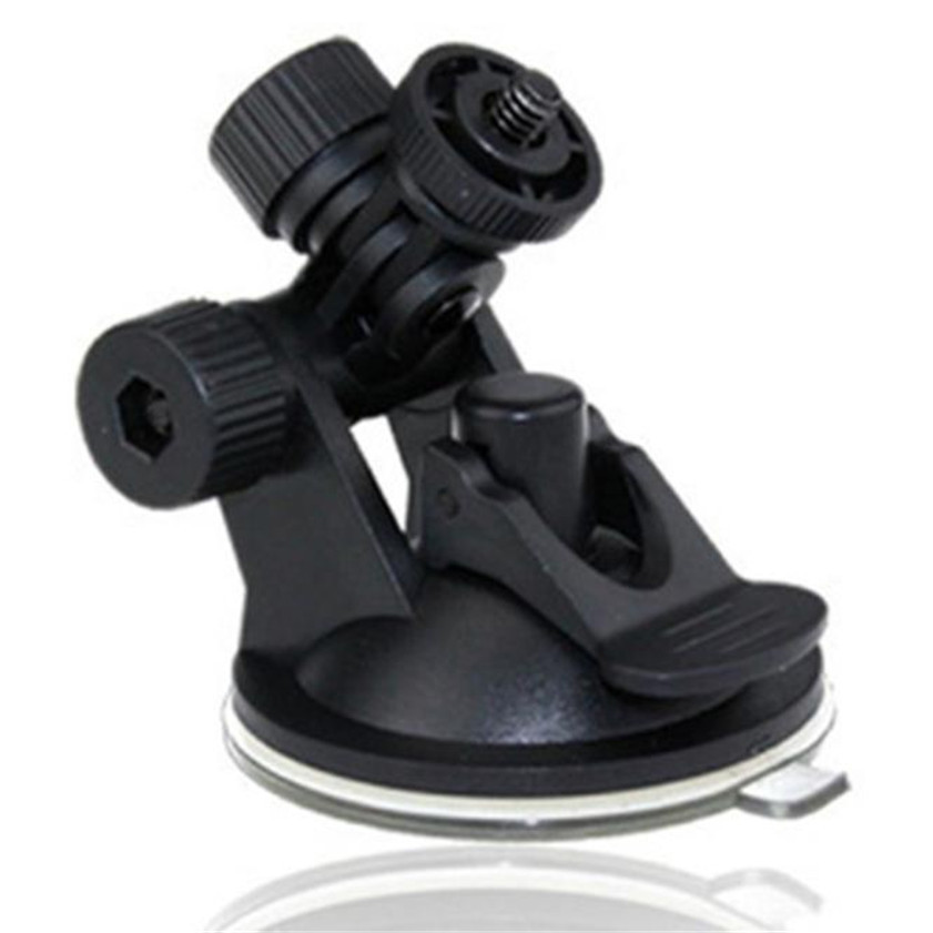 Windshield Mini Suction Cup Mount Holder for Car Digital Video Recorder Camera Car-styling Black Universal Car Bracket universal mini car mount holder w suction cup for gopro hero 4 1 2 3 3 black