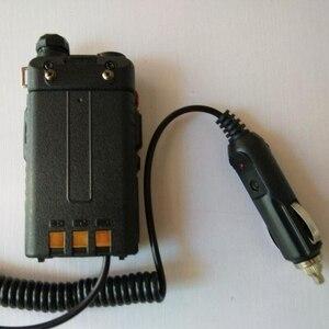 Image 2 - מכשיר קשר אביזרי 12V BAOFENG UV 5R מטען לרכב הסוללה Eliminator מתאם עבור נייד רדיו UV 5R UV 5RE בתוספת UV 5RA