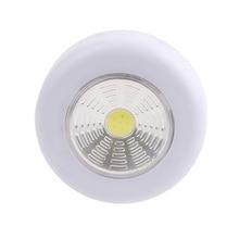 Super Bright Portable COB LED Night Light Flashlight Work Light Torch Lamp Energy Saving Camping Night Lamp Use 3*AAA Batteries