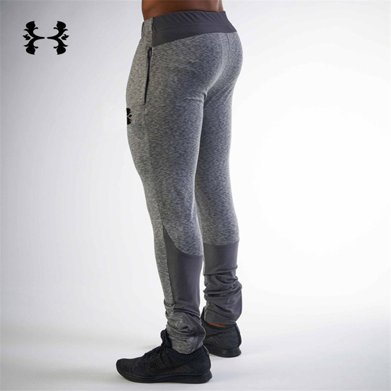 2019 New Tight  Packet Bodyboulding Gyms Pants Brand Clothing Polyester Trousers Fitness Jogger Sweatpants Men High Quality