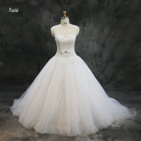 New Arrival Wedding Dresses Plus Size Ball Gown Wedding Dresses 2017 Vestidos De Noiva Robe De
