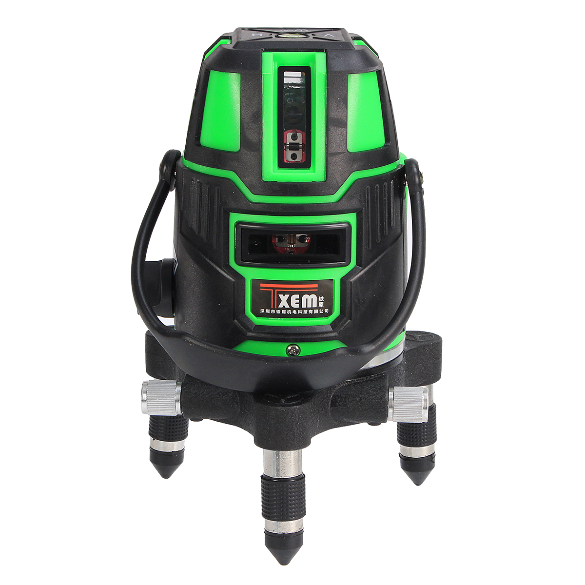 JIGUOOR Portable 360 degree 3D Rotary Green 5 Line Laser Beam Level Self Leveling Vertical Horizontal Level Measuring Tool 5 line red green 360 degree rotary laser level high accuracy self leveling cross meter construction level measuring tool