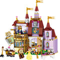 397PCS City Friend princess Bella Enchanted Castle Building Blocks Compatible with legoeds