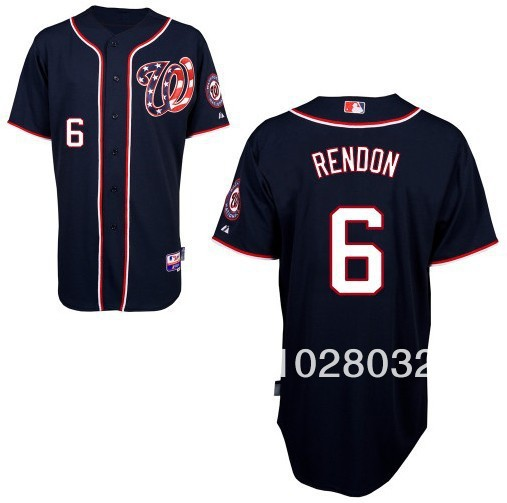 free sale washington nationals jersey 6 anthony rendon jersey white gray red blue
