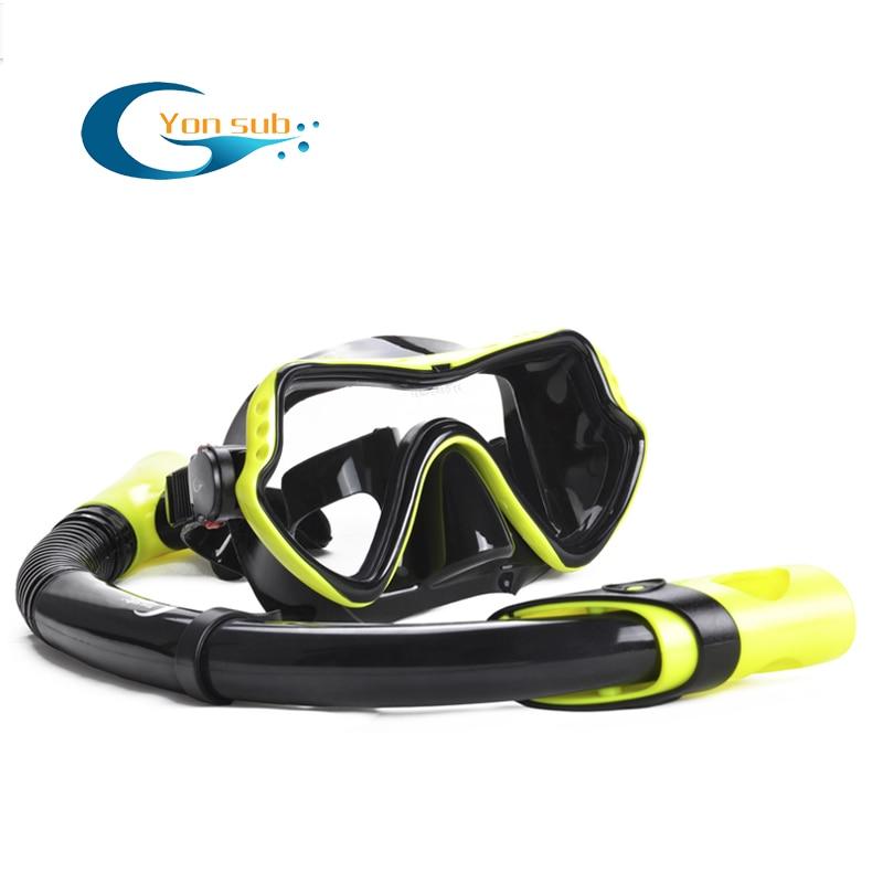 Máscara de buceo profesional de silicona para adultos Buceo Buceo - Deportes acuáticos - foto 5