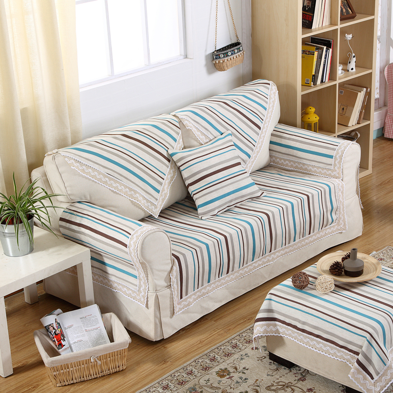 high quality striped sofa slipcovers cheap