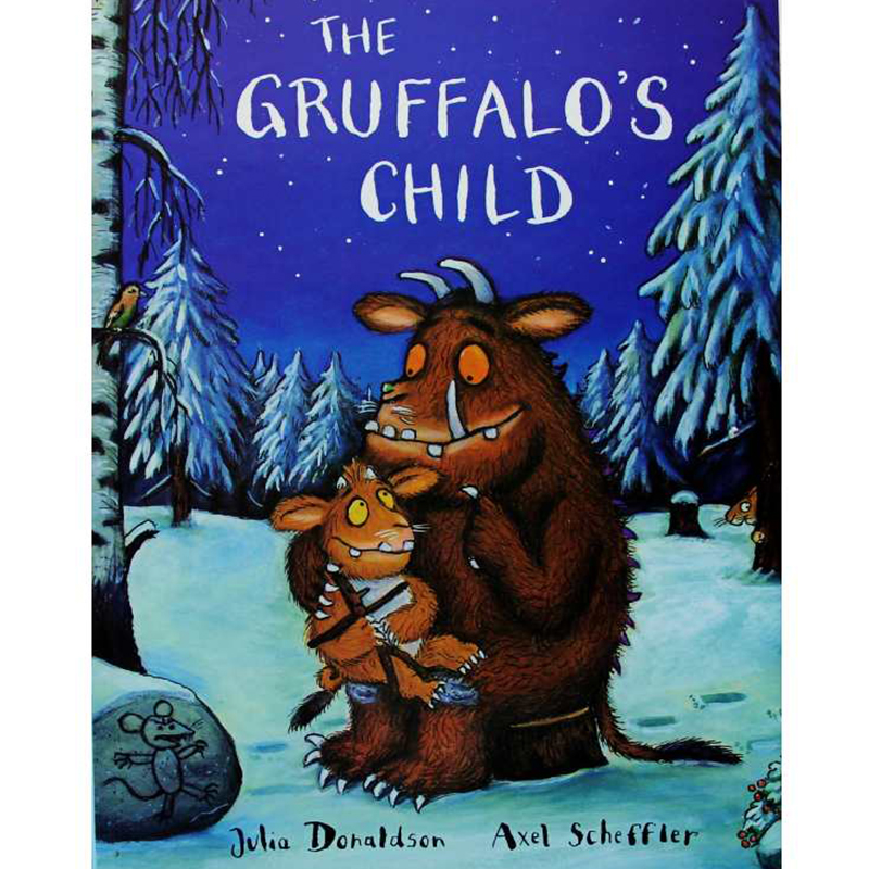 The Gruffalo's Child By Julia Donaldson Educational English Picture Book Learning Card Story Book For Baby Kids Children Gifts