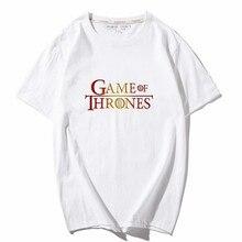 Game Of Thrones T Shirt dracarys Printed Summer Men/Women oversized t shirt Dragon Queen Casual Tee Cotton Tops Camiseta